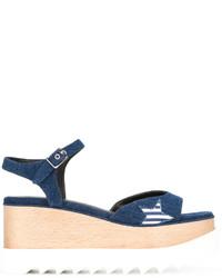 Stella McCartney Denim Elyse Sandals