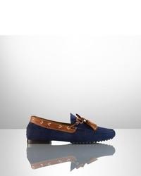Ralph Lauren Bradyn Suede Boat Shoe