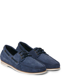 Brioni Suede Boat Shoes