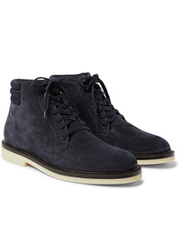 Loro Piana Icer Walk Cashmere Lined Water Repellent Suede Boots