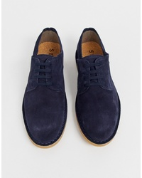Selected Homme Suede Derby Shoes