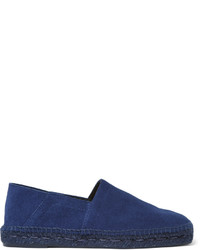 fae531f00 Men's Navy Suede Espadrilles from MR PORTER | Men's Fashion ...