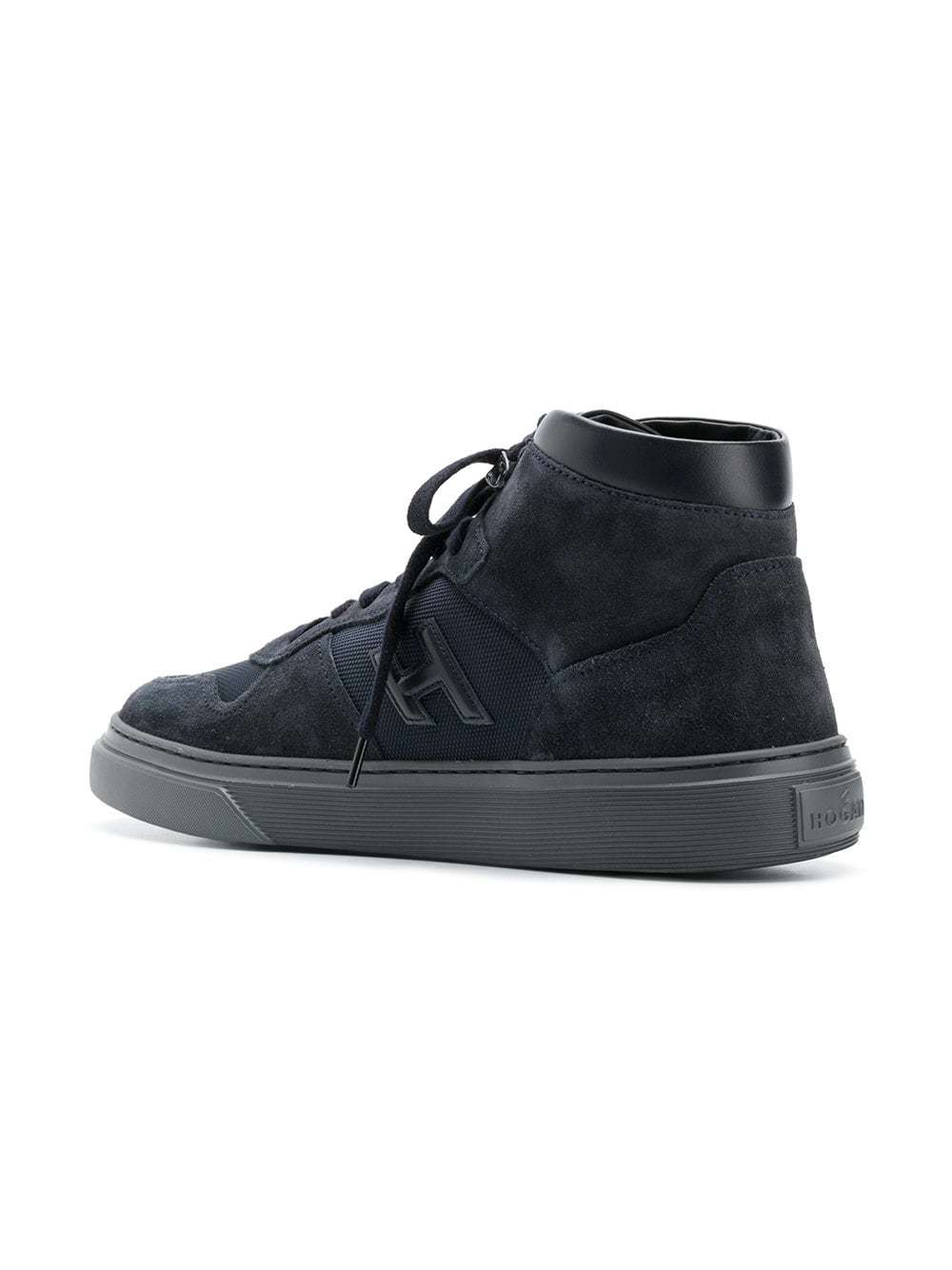 recognized brands buy popular factory price Hogan High Top Sneakers, £279 | farfetch.com | Lookastic UK