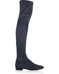 3.1 Phillip Lim Louie Stretch Suede Over The Knee Boots