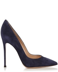 Gianvito point toe suede pumps medium 959789