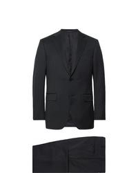 Ermenegildo Zegna Midnight Blue Slim Fit Wool Twill Suit