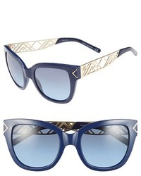 61f67fbb17 Women's Navy Sunglasses by Tory Burch | Women's Fashion | Lookastic UK