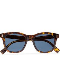 Fendi D Frame Tortoiseshell Acetate Sunglasses