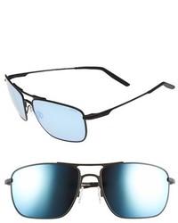 Revo Groundspeed 59mm Polarized Aviator Sunglasses Brown Terra