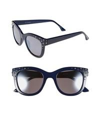 Isaac Mizrahi New York Retro Sunglasses Navy One Size