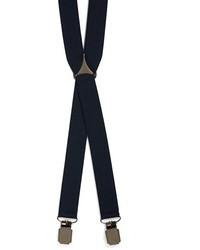 Topman Navy Skinny Suspenders