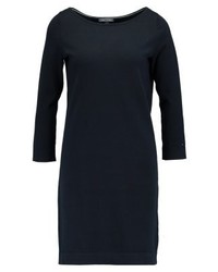 Tommy Hilfiger Ivy Boat Neck Jumper Dress Dark Blue