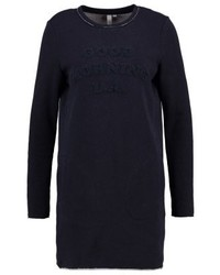 s.Oliver Jersey Dress Midnight Blue