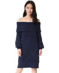 Designers Remix Sierra Off Shoulder Sweater Dress