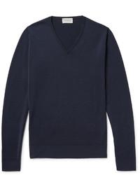 John Smedley Blenheim Merino Wool Sweater