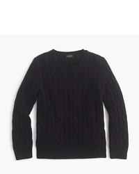 J.Crew Kids Cashmere Cable Crewneck Sweater