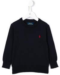 Ralph Lauren Kids Embroidered Logo Jumper