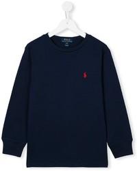 Ralph Lauren Kids Round Neck Sweatshirt