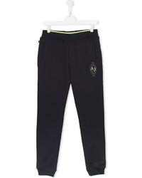 Armani Junior Logo Patch Track Pants