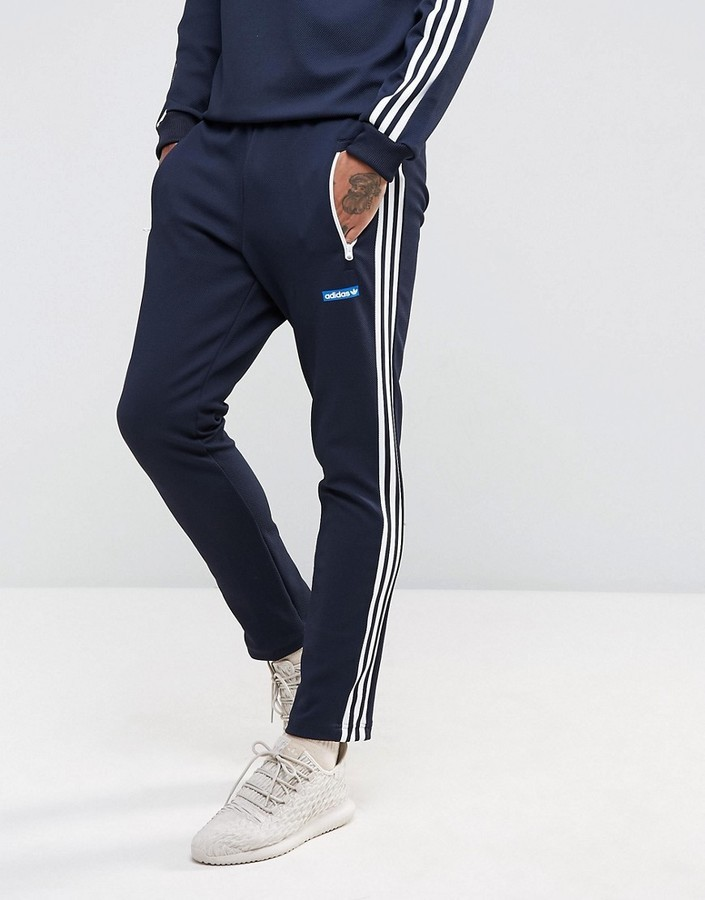 sale uk great deals 2017 exquisite style £63, adidas Originals Osaka Tennoji Track Joggers In Navy Bs4683