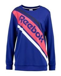 Reebok Sweatshirt Dark Bluered
