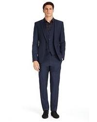 Navy Three Piece Suit
