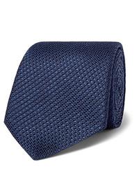 Canali 8cm Woven Silk Tie