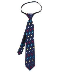 Cufflinks Inc. Boys Cufflinks Inc Star Wars R2 D2 Stripe Zipper Silk Tie