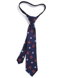 Nordstrom Play Catch Silk Zipper Tie