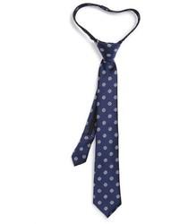 Nordstrom Ship Wheels Silk Zipper Tie