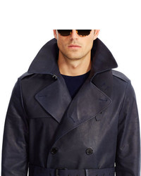 f21bf2d7 Ralph Lauren Black Label Bonded Leather Trench Coat, £4,120 | Ralph ...