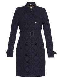 Burberry London Kensington Broderie Anglaise Trench Coat
