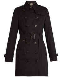 Burberry London Sandringham Mid Length Gabardine Trench Coat