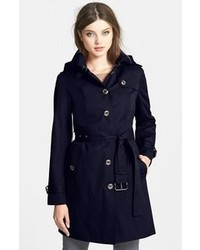 MICHAEL Michael Kors Michl Michl Kors Trench Coat With Detachable Hood Liner