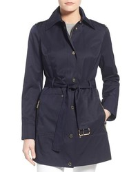 MICHAEL Michael Kors Michl Michl Kors Snap Front Belted Trench Coat