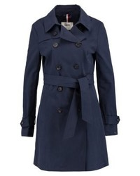 Tommy Hilfiger Thdw Basic Trenchcoat Blue