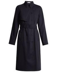 Tomas Maier Wool Gabardine Trench Coat