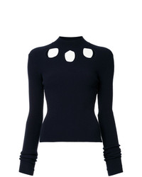 Rosie Assoulin Cut Out Detail Jumper