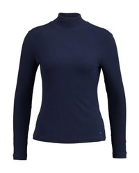 Tommy Hilfiger Remy Long Sleeved Top Blue