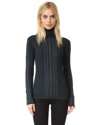 Ribbed turtleneck pullover medium 835049