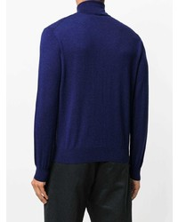 Canali Roll Neck Sweatshirt
