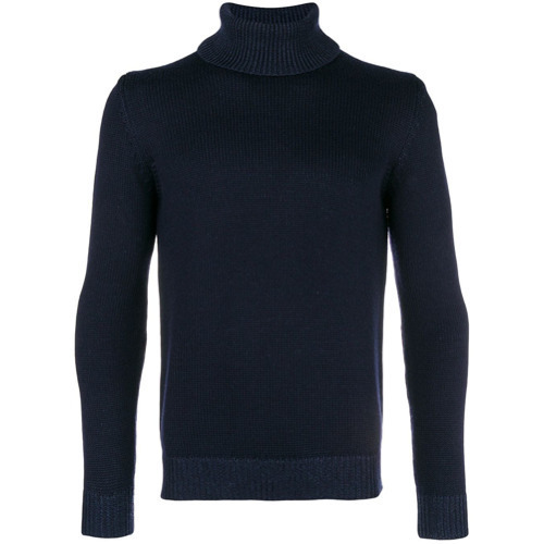 Roberto Collina Turtleneck Ribbed Jumper