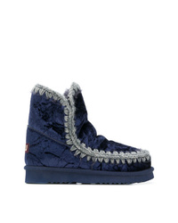 Mou Quilted Ankle Boots