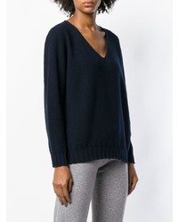 Cruciani Boxy V Neck Sweater