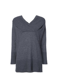 Adam Lippes Off Shoulder Brushed Sweater