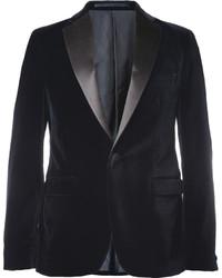 Acne Studios Drifter Slim Fit Velvet Tuxedo Blazer