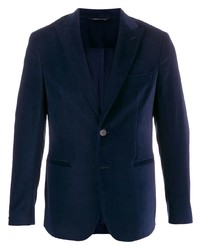 Tonello Slim Fit Velvet Blazer