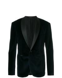 Tagliatore Velvet Tuxedo Blazer