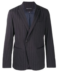John Varvatos Asymmetric One Button Jacket