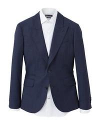 Mango Slim Fit Napoli Suit Jacket Dark Navy